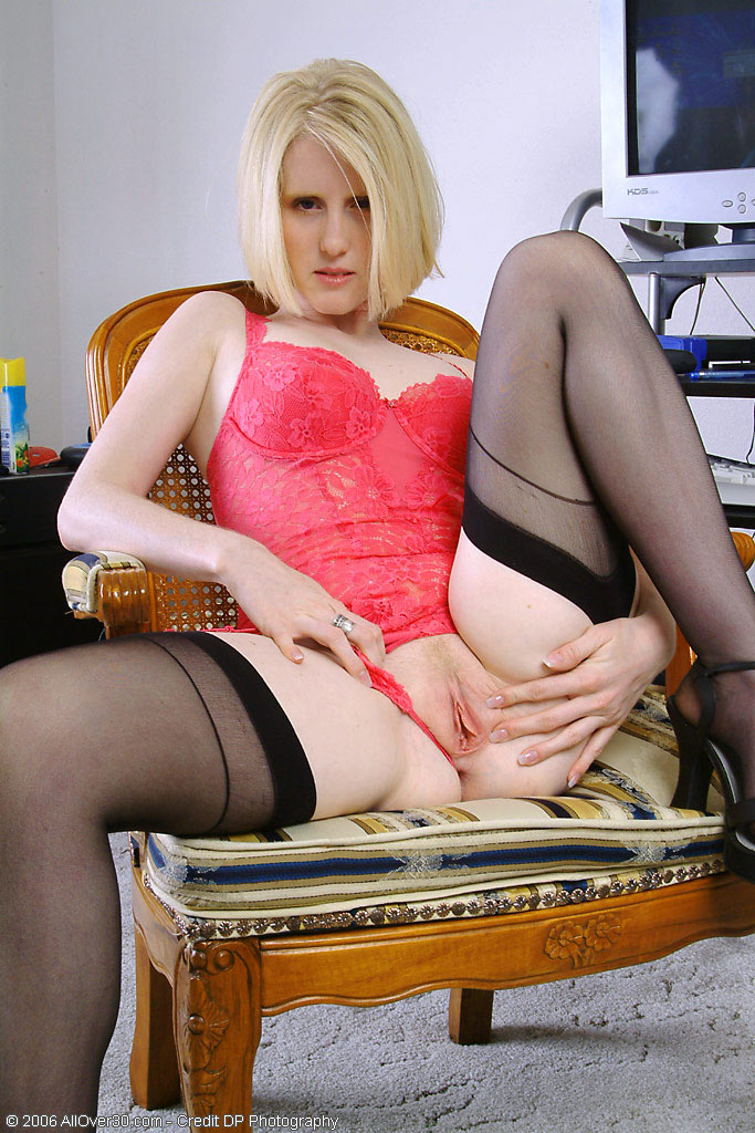 Milf office blond